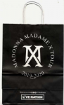 MADAME X TOUR - 2019 PAPER BRANDED SHOPPING BAG